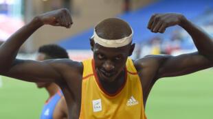 Le Kényan Caleb Ndiku.