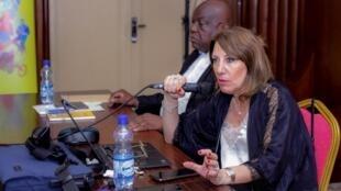 Zeina Mina, Directrice du Comité international des Jeux de la Francophonie (CIJF).