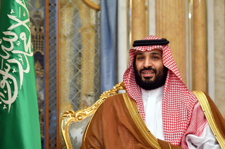 Thái tử Ả Rập Xê Út Mohammed Ben Salmane hội đàm với ngoại trưởng Mỹ Mike Pompeo tại Jeddah (Ả Rập Xê Út) ngày 18/09/2019.