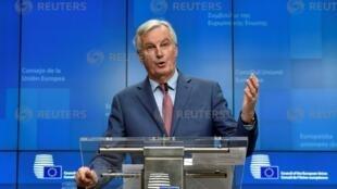 欧盟负责英国退欧事务谈判的首席代表巴尼耶。