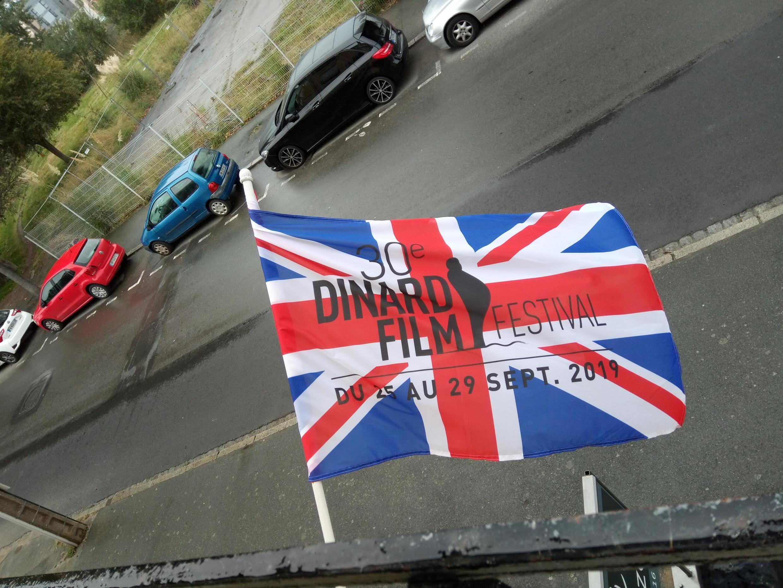 Dinard Film Festival's Union Jack Flag 2019