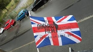 Dinard Film Festival's Union Jack Flag 2019