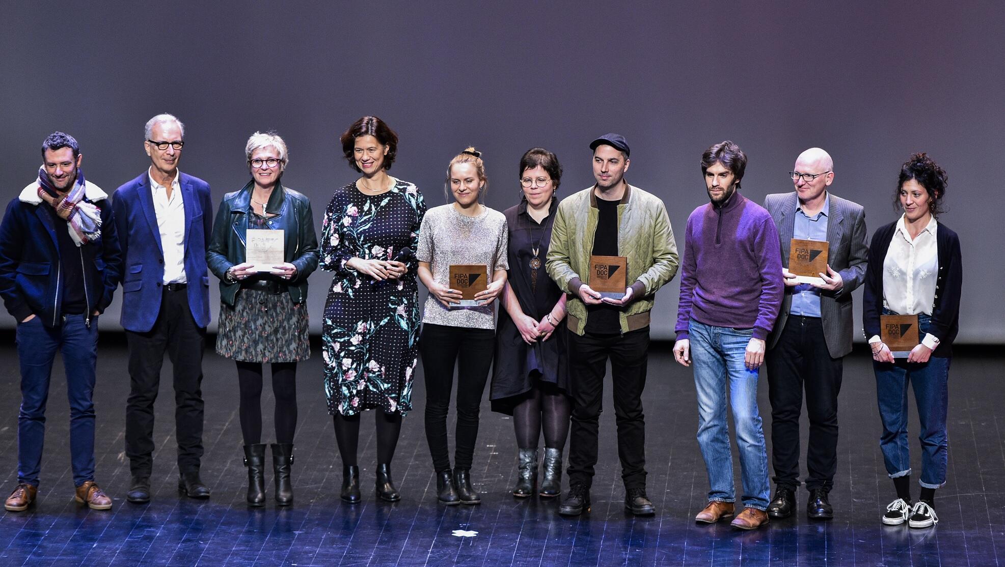 Fipadoc 2019 awards recipients, 26 January 2019, Biarritz