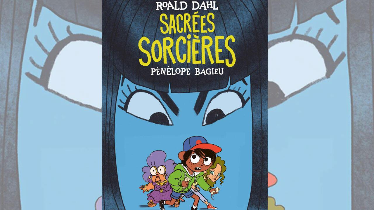 La couverture de la bande dessinée de Aj Dungo «Sacrées sorcières» de Pénélope Bagieu.