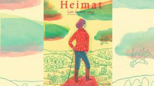 La couverture du livre «Heimat, loin de mon pays» de Nora Krug.