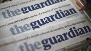 កាសែត Guardian (រូបចេញផ្សាយថ្ងៃទី ២១ សីហា ២០១៣) បង្ហើបពីការប្រើប្រព័ន្ធស៊ើបការណ៍របស់អឺរ៉ុប