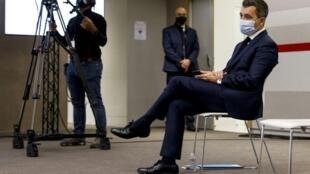 2020-12-15 france politics interior minister gerald darmanin