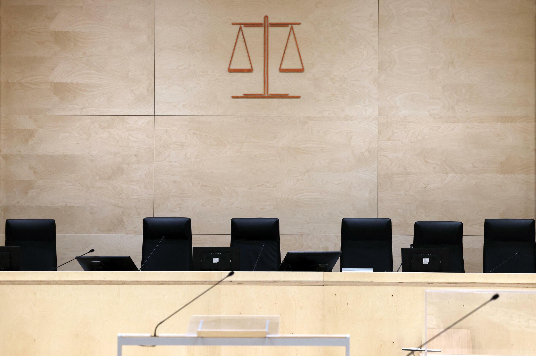 France - Paris - Procès 13 novembre - salle d'audience - 000_9M37HP