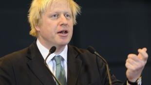 伦敦市长鲍里斯·约翰逊(Boris Johnson)