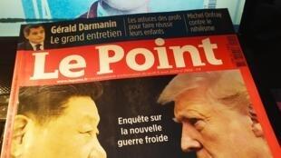Braço de ferro entre presidentes chinês, Xi Jinping e americano, Donald Trump