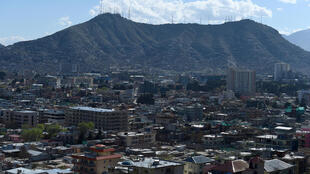 View of Kabul. Talks between the Afghan government and the Taliban have been repeatedly pushed back by disagreements over ongoing violence and a prisoner swap