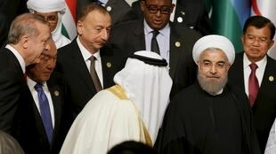 حسن روحانی و ملک سلمان در اجلاس سران کشورهای اسلامی در استانبول