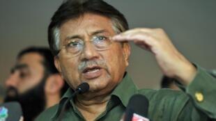 L'ex-président du Pakistan, Pervez Musharraf, en mars 2013.