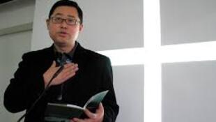資料圖片:成都秋雨聖約教會主任牧師王怡。拍攝年代不詳