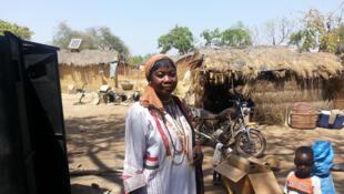 Séribara Fatoumata Diallo, présidente de la coopérative multifonctionnelle «Femmes en action».