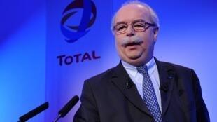 Christophe de Margerie, Presidente do Conselho de Administração de Total, a 11 de Fevereiro de  2010.
