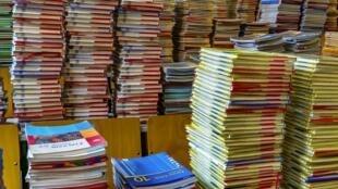Livres de classe.