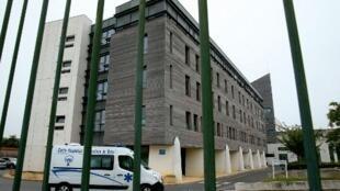 L'hôpital Sébastopol de Reims, où Vincent Lambert est hospitalisé.