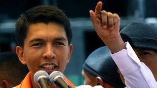 Andry Rajoelina, le chef de la transition malgache