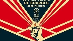Affiche du Printemps de Bourges 2013.