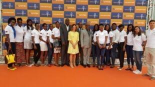 Delegação olímpica angolana no Rio de Janeiro