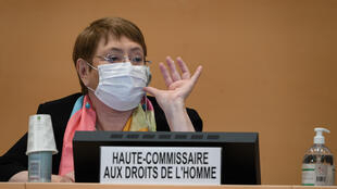 African countries are pushing for UN rights chief Michelle Bachelet to investigate racism and police civil liberties violations