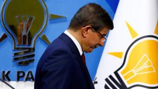 احمد داووداوغلو، نخست وزیر ترکیه و رهبر حزب حاکم عدالت و توسعه ترکیه