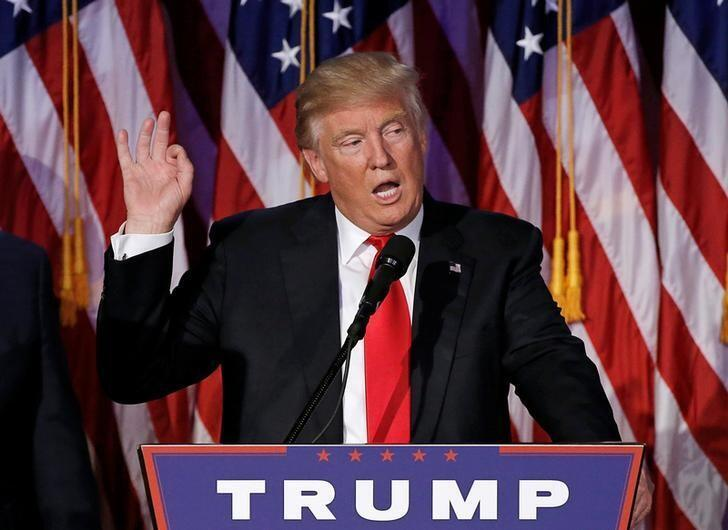 Donald Trump, presidente eleito dos EUA