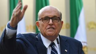 Rudy Giuliani, ancien maire de New York, est aussi l'avocat de Donald Trump.