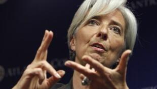 Christine Lagarde, nouvelle patronne du Fonds Monétaire International.