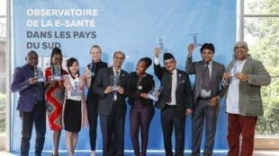 Les lauréats du prix de l'innovation en matière de e-santé de la Fondation Pierre Fabre.