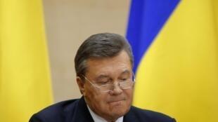 ویکتور یانووکویچ، رئیس جمهوری برکنار شده اوکرائین