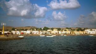 IMAGE Vue de la ville de Tadjourah, à Djibouti. 15/01/2021
