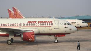 Des avions de la compagnie aérienne Air India. (Illustration)