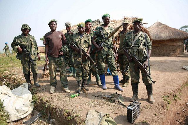 Des soldats des FARDDC en Ituri (illustration).