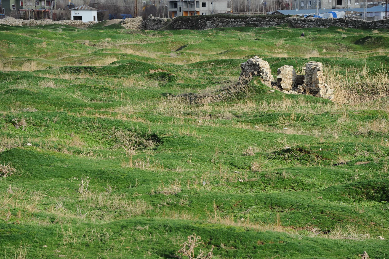 Старый город Ван полностью уничтожен. Турция. 3 апреля 2015 год