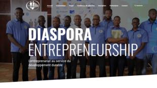 Page d'accueil de Diaspora entrepreneurship.