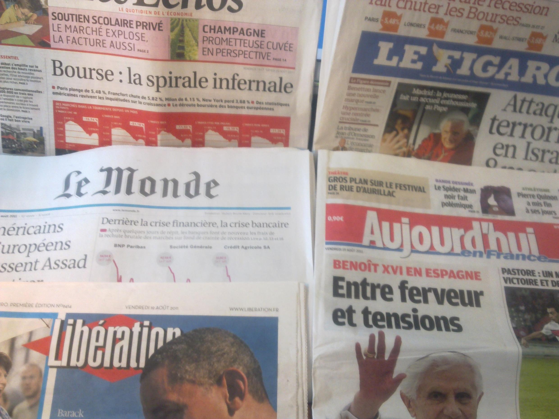 Diarios franceses 19/08/2011