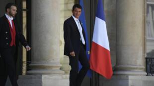 Manuel Vals, primeiro-ministro francês