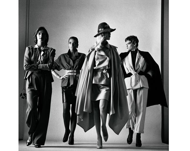 Хельмут Ньютон, Sie kommen, French Vogue 1981
