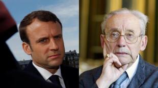 Assistant éditorial de Paul Ricœur pendant ses années universitaires à Nanterre (1998-2000), Emmanuel Macron a été profondément influencé par la pensée du philosophe.