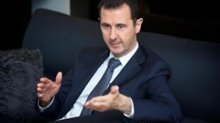 Rais wa Syria, Bashar al-Assad