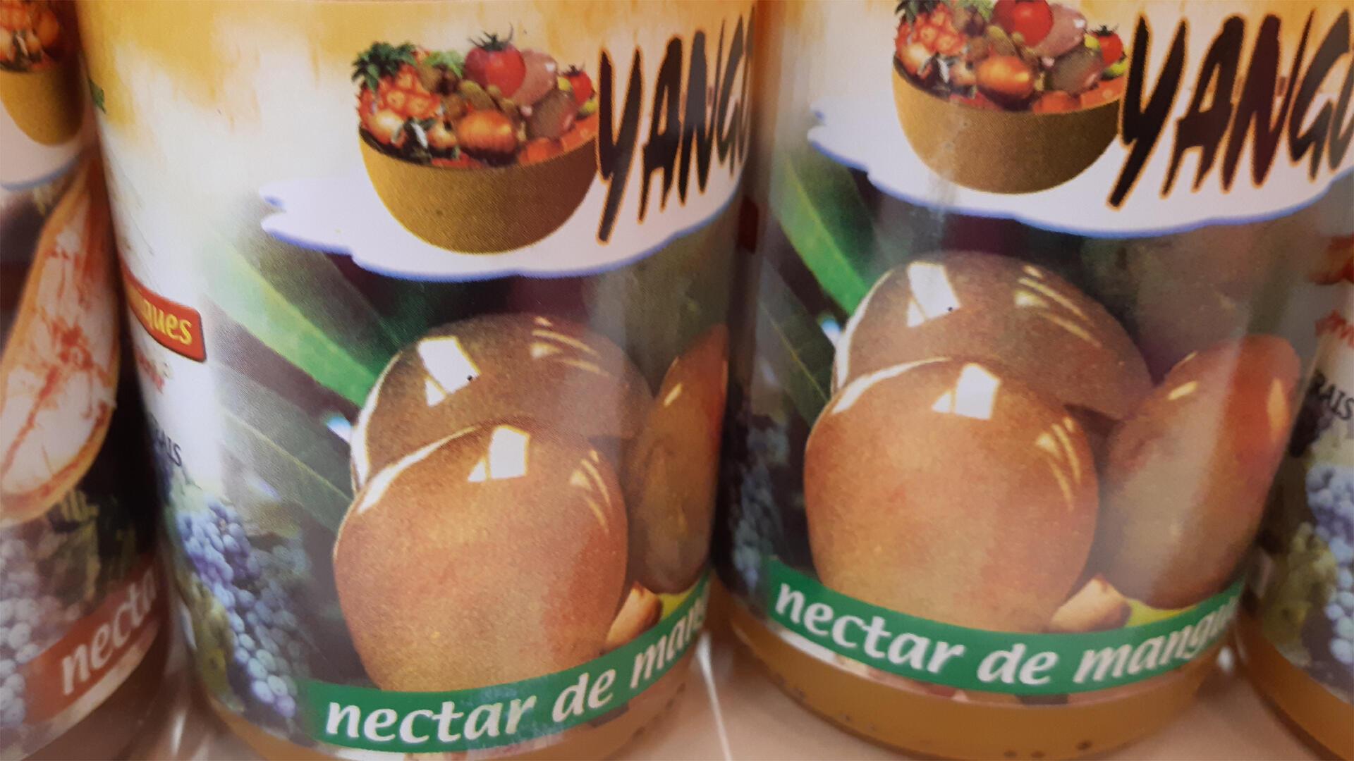 Nectar de mangues.