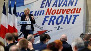 Marine Le Pen ta jam'iyyar National Front a Faransa