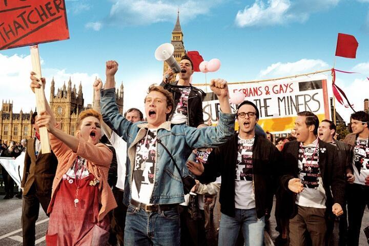 Une scène du film <i>Pride</i>.