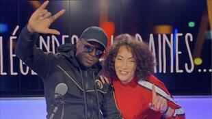 """Le rappeur Ninho, invité de l'émission """"Légendes urbaines"""", présentée par Juliette Fievet."""
