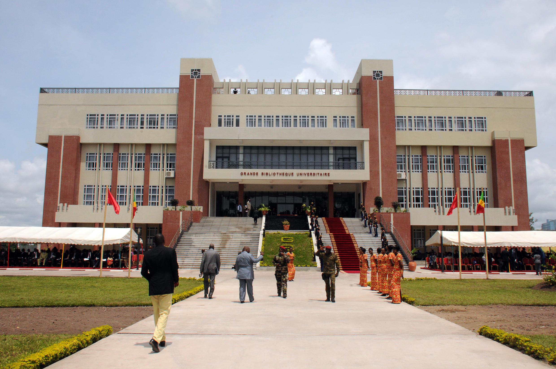 Vue de l'université de Brazzaville, au Congo. La Commission nationale de lutte contre la corruption, la fraude et la concussion dénonce notamment la mauvaise gestion des fonds publics destinés au paiement des bourses des étudiants, fin décembre 2017.
