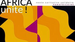 Détail de l'affiche de la vente caritative panafricaine Africa Unite qui se tient du 28 octobre au 5 novembre 2020.