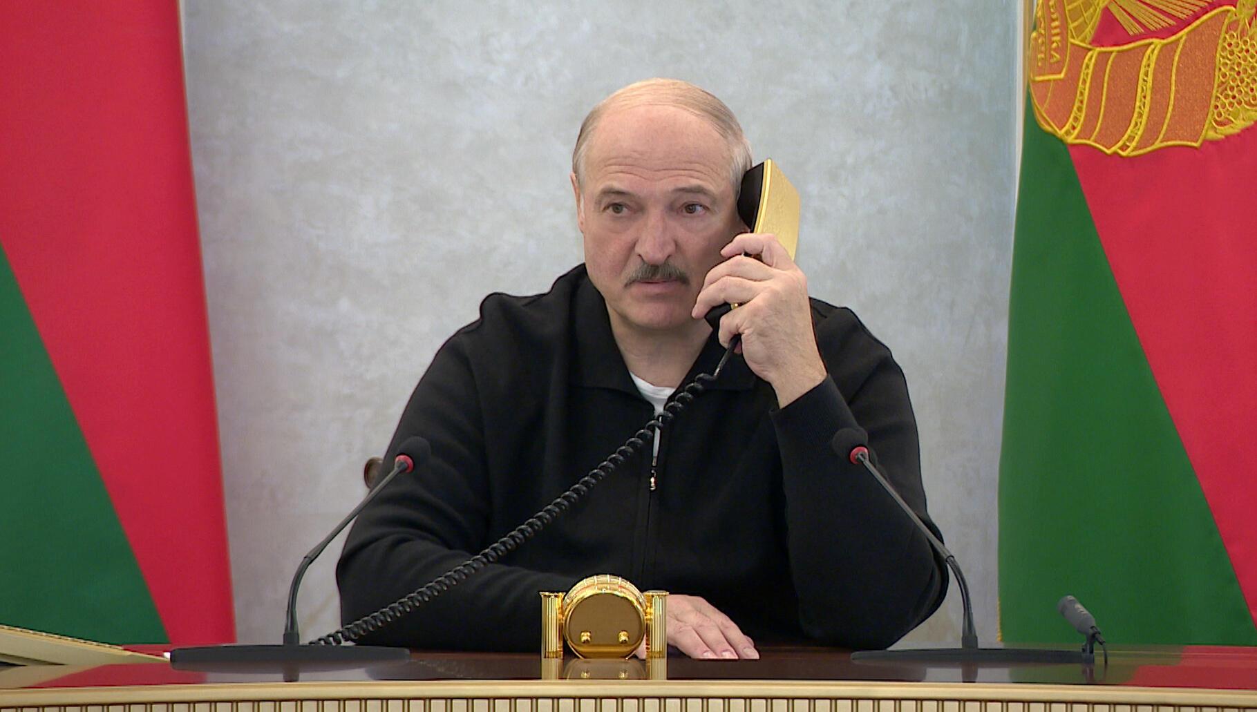 Shugaban Belarus, Alexandre Loukachenko