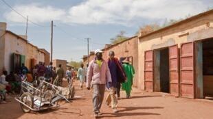 Rue de Douentza au Mali.